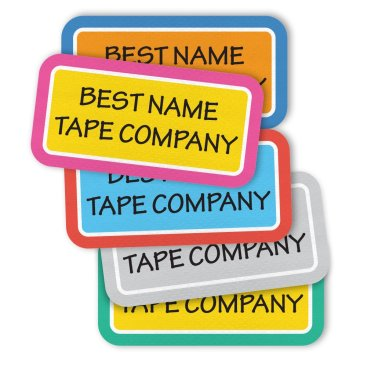 PERFORMANCE IRON-ON NAME LABELS