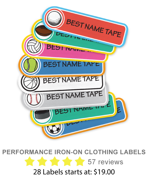 Performance Clothing Labels
